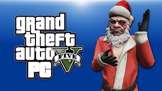 getlinkyoutube.com-GTA 5 PC Online Funny Moments - XMAS DLC! Santa, Shopping, Yacht Dive Glitch! (BEFORE THE SNOW!)