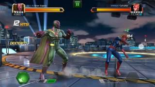 getlinkyoutube.com-How to Evade Special Attacks in Marvel Contest of Champions - Winter Soldier and Captain Marvel