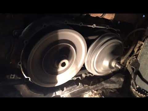 Посторонний звук в вариаторе CF625 (X6) без крышки