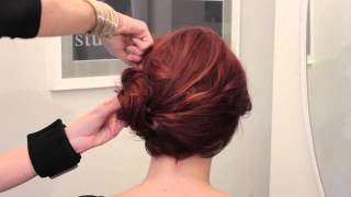 getlinkyoutube.com-Wedding Hairstyles With Side Buns : Fashionable Wedding Hairstyles
