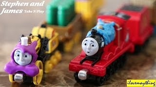 getlinkyoutube.com-Thomas Take N Play: Stephen's Sticky Delivery and James & the Flying Kipper