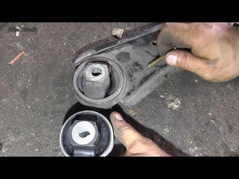 Замена сайлентблоков передней подвески FIAT Doblo Maxi