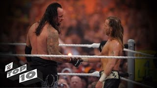 Career-Threatening Match Moments - WWE Top 10 width=