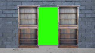 getlinkyoutube.com-Secret door Green Screen (FHD)