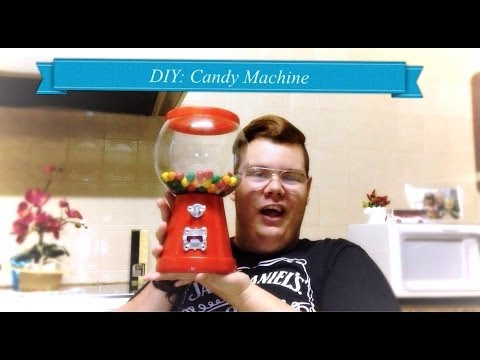 DIY - Máquina de DOCES (Candy Machine)