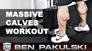 getlinkyoutube.com-Ben Pakulski Calf Workout (Massive Calves)