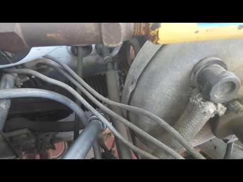 Расположение опорного подшипника у Jeep Вранглер