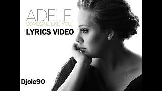 getlinkyoutube.com-Adele - Someone Like You (Lyrics)