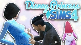 getlinkyoutube.com-First Dwarf Baby! | Ep. 3 | Sims 4 Disney Princess Challenge