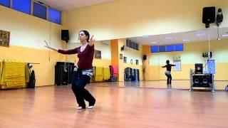getlinkyoutube.com-Bellydance - Egyptian sha'abi style choreography - Netgawez- Danza del ventre L'Aquila