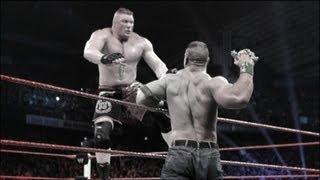 getlinkyoutube.com-John Cena vs. Brock Lesnar Extreme Rules Match highlights