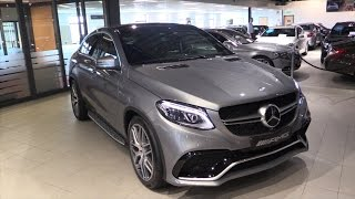 getlinkyoutube.com-Mercedes-Benz GLE 63 S AMG Coupe 2017 In Depth Review Interior Exterior
