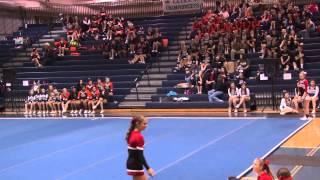 Tumble Off - 2014 YAIAA Cheerleading Championship at Dallastown High School