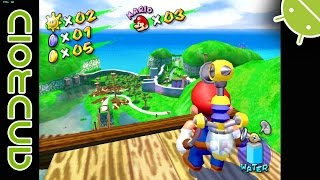 getlinkyoutube.com-Super Mario Sunshine | NVIDIA SHIELD Android TV | Dolphin Emulator 4.0-7947 [1080p] | GameCube