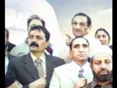 Ch. Mukhtar Ahmed Niaz in Liaquat Bagh PPP V.P. Distt. Rawalpindi. Feb 2009