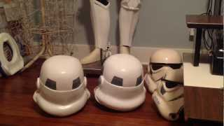 getlinkyoutube.com-RS Props Stormtrooper Helmet unboxing and comparison
