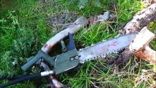 Military Surplus Hydraulic Chain Saw