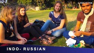 getlinkyoutube.com-Russian Girls SPEAKING Mind blowing Hindi & EATING Russian Chocolates : INDO-RUSSIAN-NEPALI MEETING
