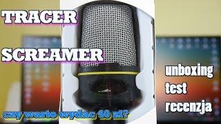 getlinkyoutube.com-Tracer Screamer - mikrofon za 40zł - czy warto? Test Recenzja Unboxing.