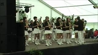 Schalmeienorchester Tettau/Frauendorf - Marina (3. Musikfest Teterow 2010)