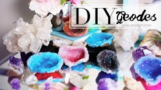 getlinkyoutube.com-DIY Crystals w/ Polymer Clay | Home Decor | ANN LE