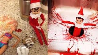 Horrible Elf on the Shelf Ideas! width=