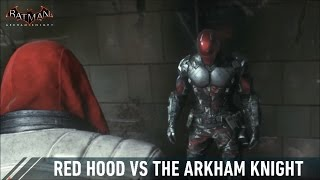 getlinkyoutube.com-CHAR SWAPS; Batman; Arkham Knight; Red Hood Vs The Arkham Knight