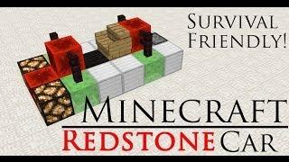 getlinkyoutube.com-Minecraft Redstone Car (No Mods)