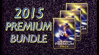 getlinkyoutube.com-Premium Now and Later Bundle Opening ! :- Madden Mobile Pack Opening