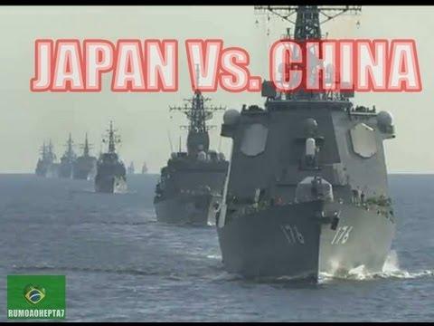 WW3: China vs Japan Islands Dispute - Japan navy tri-annual fleet review