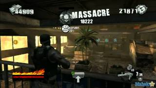 50 Cent Blood on the Sand Walkthrough - Mission 3 - Anneh'mur Mall Part 2