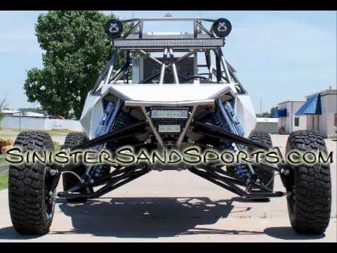First drive of turbo busa SXR sandrail from Sinister Sand Sports