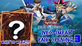 getlinkyoutube.com-SO MANY ULTRA RARES!!! 30 PACKS OPENING! Yu-Gi-Oh! Duel Links: Neo-Impact Pack Part 3