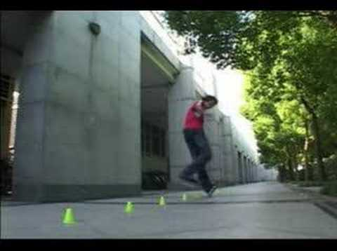 Inline - Freestyle slalom - Influences