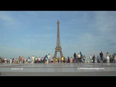 Eiffel Tower from Trocadero. France