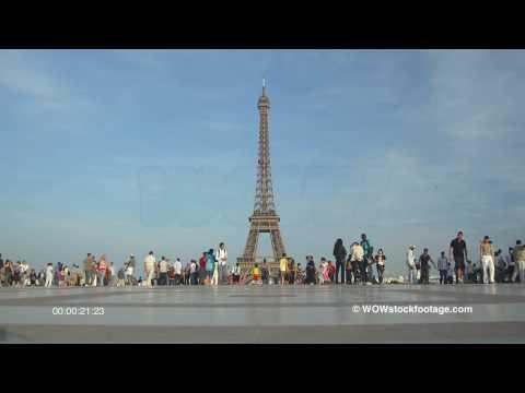 Eiffel Tower from Trocadero. France
