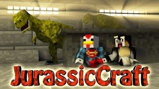 "getlinkyoutube.com-Minecraft Dinosaurs   Jurassic Craft Modded Survival Ep 21! ""RAPTOR PACK"""
