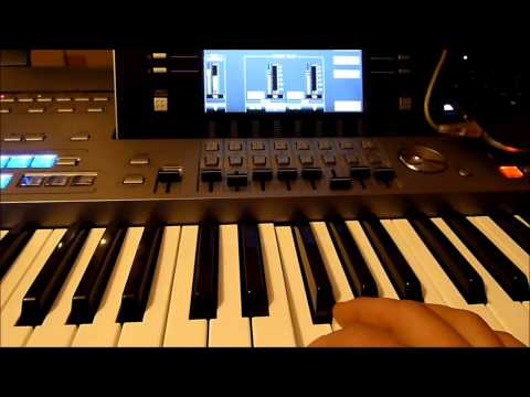 Computer Music Tutorial : Yamaha TYROS 5 + Air IGNITE - 275 new instruments for your keyboard.