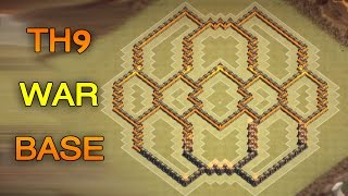 getlinkyoutube.com-Clash of clans Town hall 9 WAR BASE TH9 \ تصميم حرب تاون هول 9