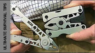 getlinkyoutube.com-WOW! Multi-Tool / Belt Buckle - WHAT!?  SOG Sync @ SHOT Show 2017 - Best NEW Multitool?