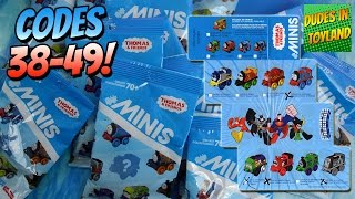 getlinkyoutube.com-Thomas Minis BLIND BAGS 38-49 with codes NEW 2015, wave 2 surprise train toys for children 托马斯