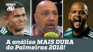 Narrador faz a análise MAIS DURA do Palmeiras 2018! width=