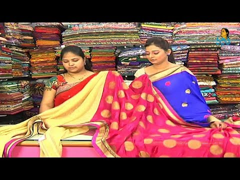 Fancy Sarees with Price | Sogasu Chuda Tarama_6-12-2013 | Vanitha TV