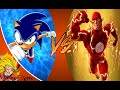 SONIC vs THE FLASH! Cartoon Fight Club Episode 59 REACTION!!!