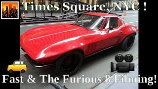 Fast & Furious 8 Filming In NYC | Times Square | July 9th, 2016 width=