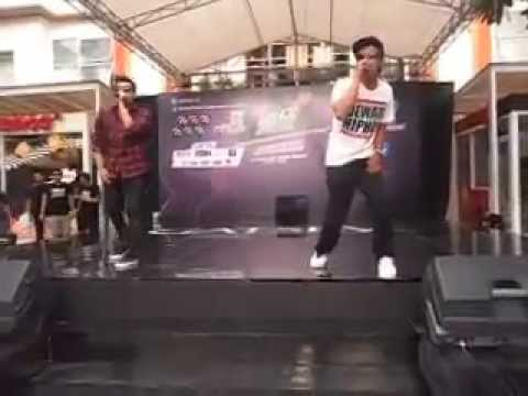 SnapBack   4 Element live at Gatsby Styling Dance Contest Bali
