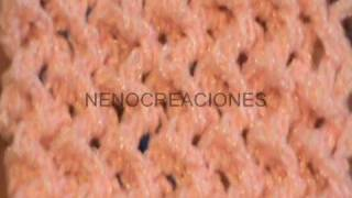 getlinkyoutube.com-COMO TEJER PUNTADA PUNTO TRIDIMENSIONAL EN GANCHILLO CROCHET