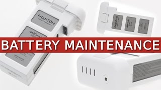 getlinkyoutube.com-Phantom 3 + 4 | Battery Maintenance, Storage & Information