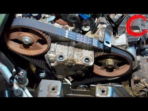 Замена ремня ГРМ Пежо/Peugeot 206/306/307/406/806 двигателем 2.0 hdi 8v