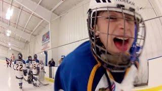 getlinkyoutube.com-GoPro Chest Cam Youth Hockey Scrimmage